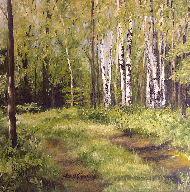 Path to the Birches